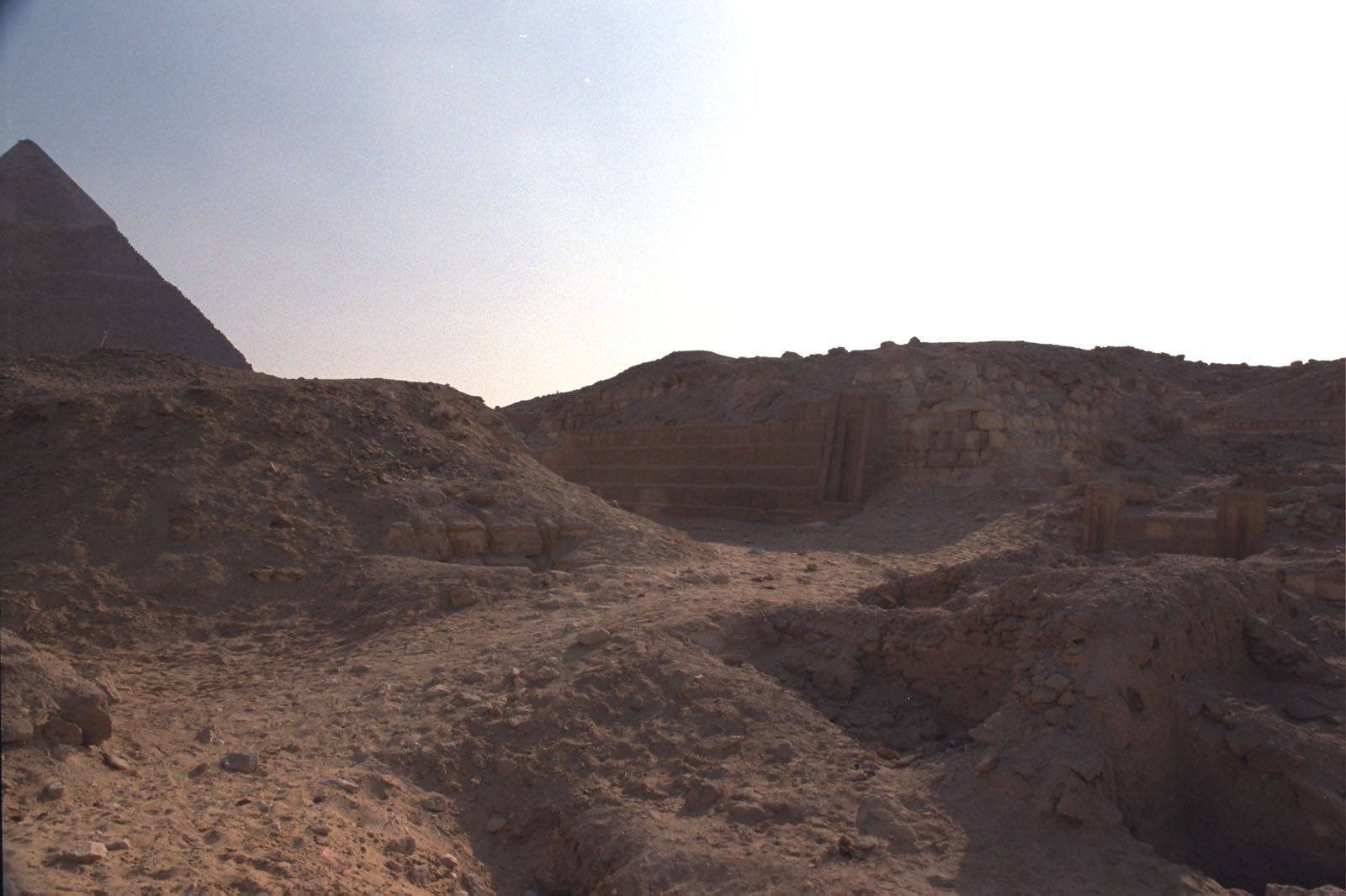 Western Cemetery: Site: Giza; View: G 2170, G 2150, G 2151