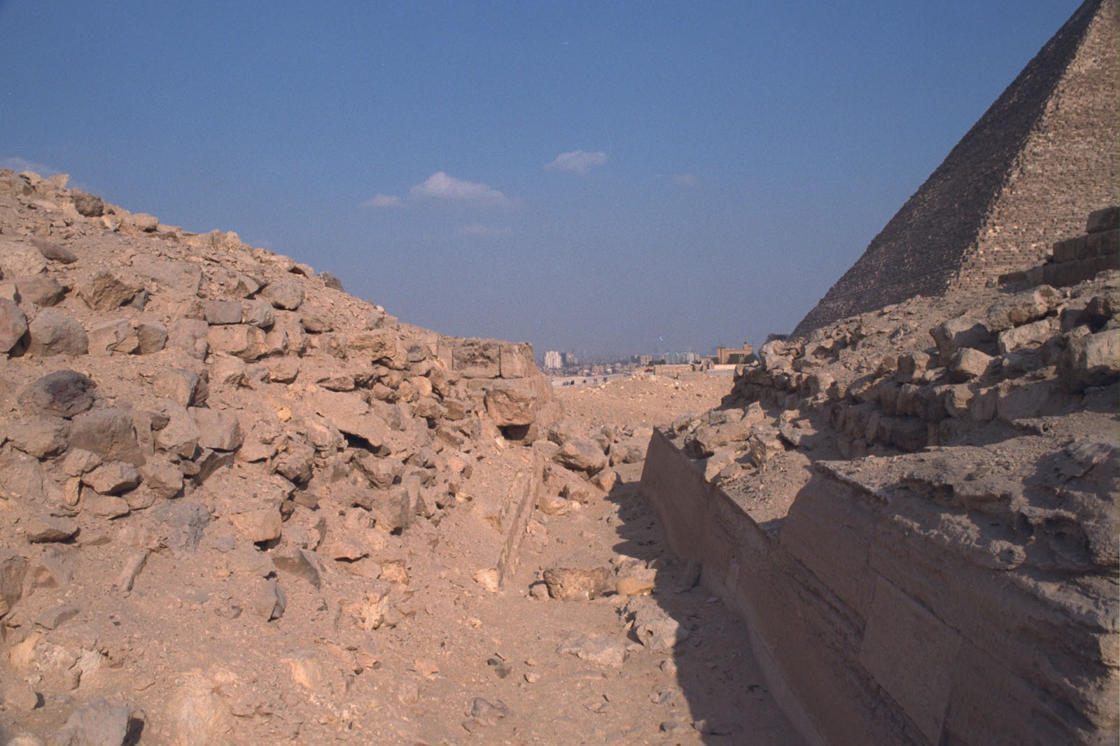 Western Cemetery: Site: Giza; View: G 2210, G 2130