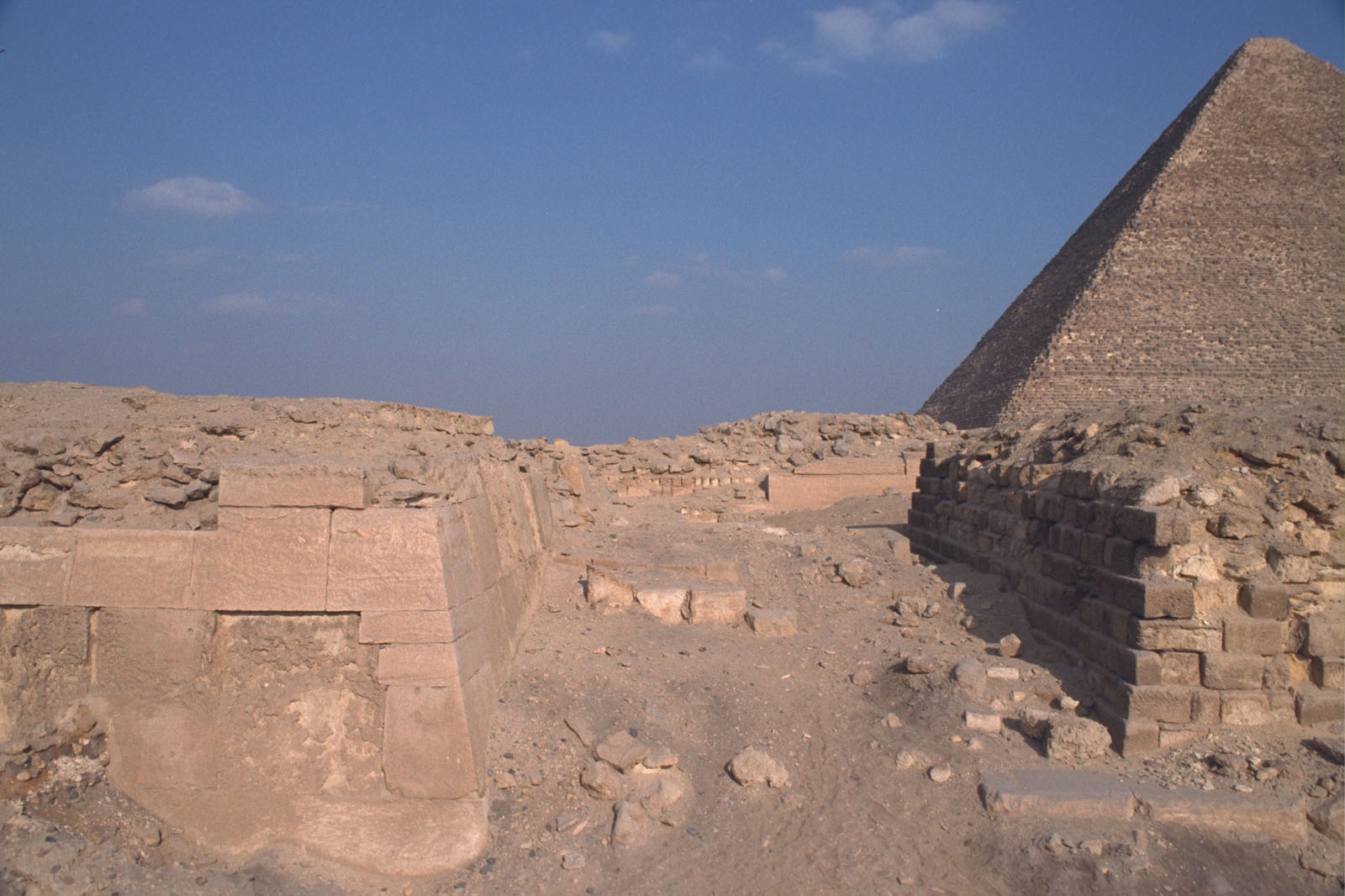 Western Cemetery: Site: Giza; View: G 2110, G 2100, G 2113, G 2111, G 2112