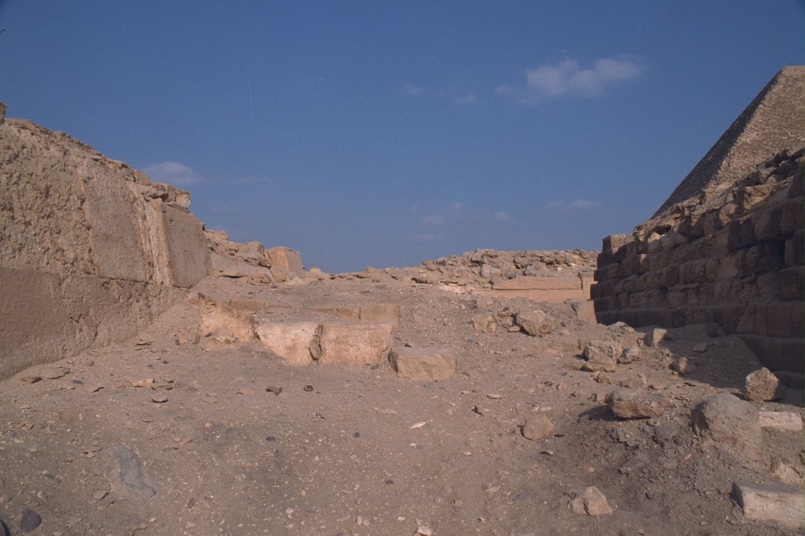 Western Cemetery: Site: Giza; View: G 2110, G 2100, G 2111, G 2112