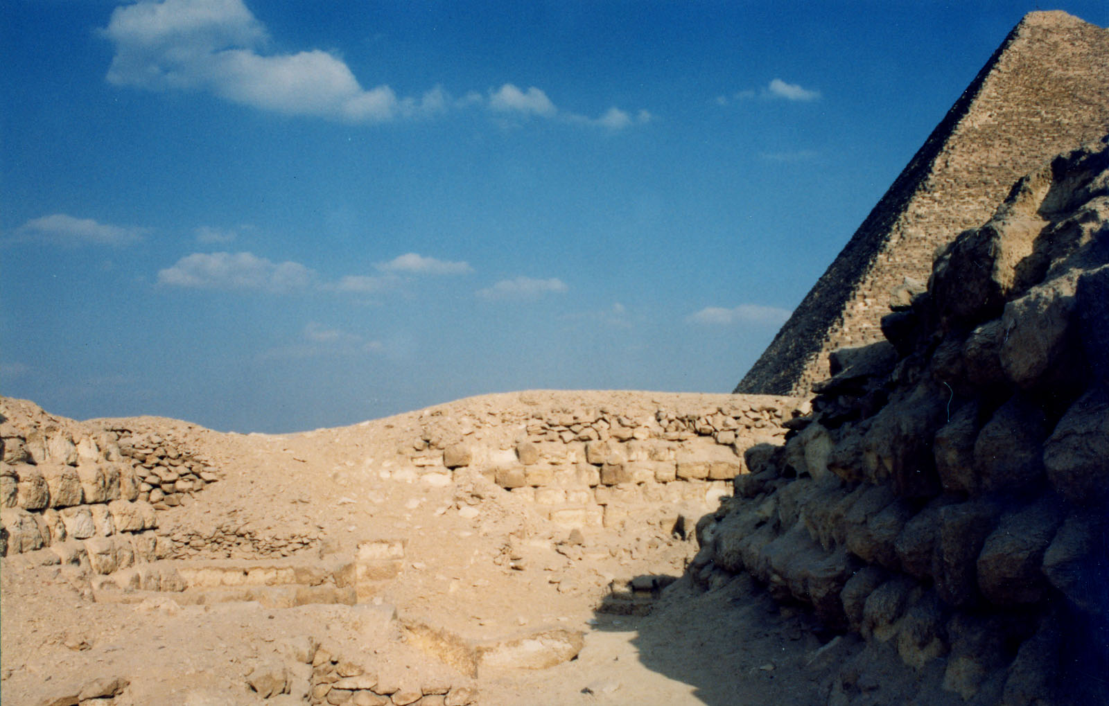 Western Cemetery: Site: Giza; View: G 2170, G 2160, G 2163, G 2162, G 2161