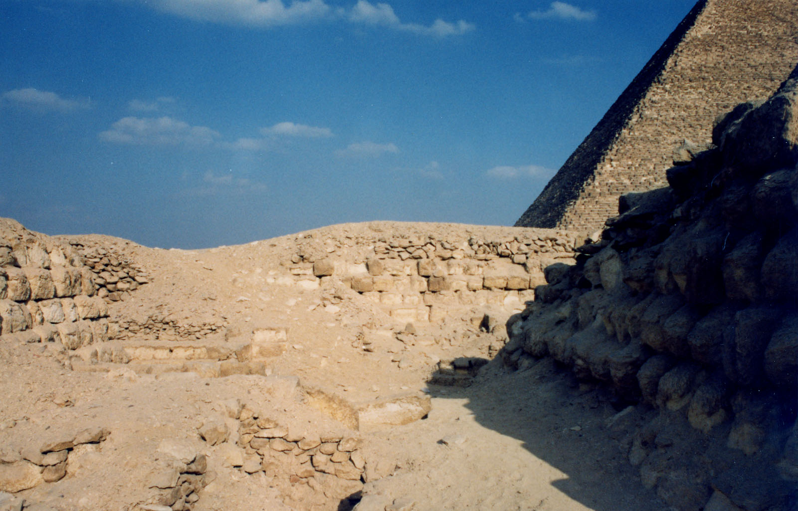 Western Cemetery: Site: Giza; View: G 2170, G 2160, G 2161, G 2162, G 2163