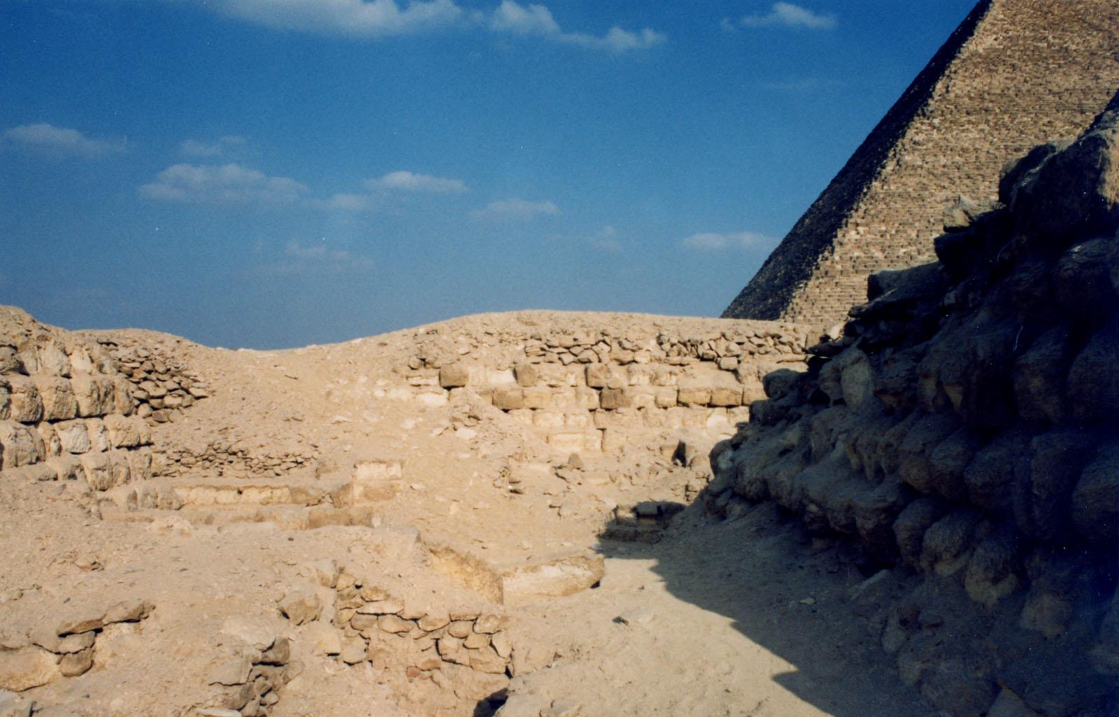 Western Cemetery: Site: Giza; View: G 2170, G 2160, G 2161, G 2162, G 2163