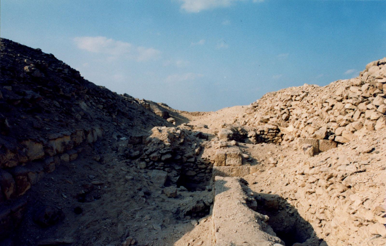 Western Cemetery: Site: Giza; View: G 2170, G 2169, G 2171, G 2172, G 2173, G 2174