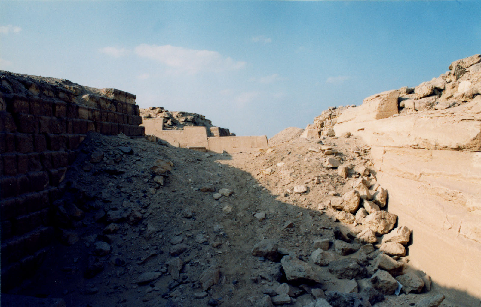 Western Cemetery: Site: Giza; View: G 2100, G 2130, G 2110