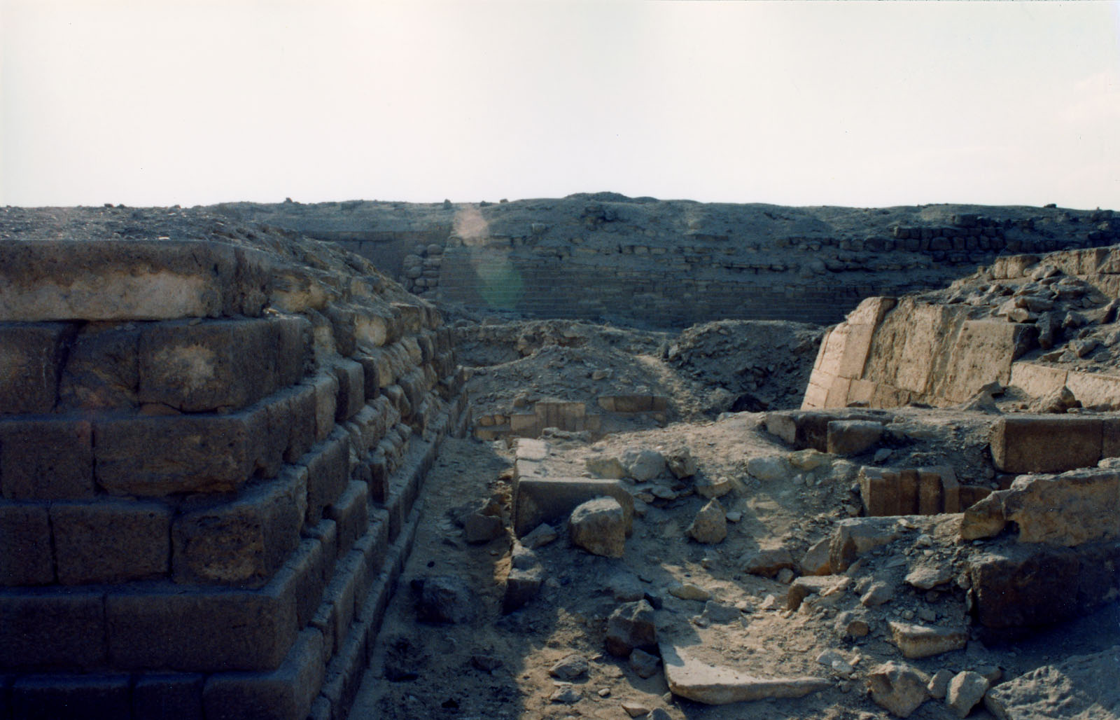 Western Cemetery: Site: Giza; View: G 2112, G 2111, G 2113, G 2100, G 2110