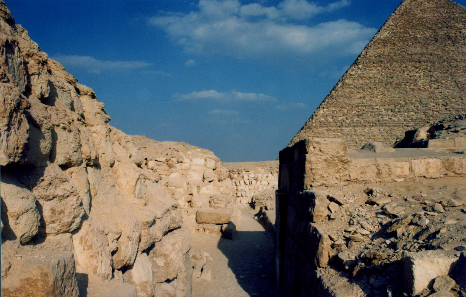 Western Cemetery: Site: Giza; View: G 2140, G 2136