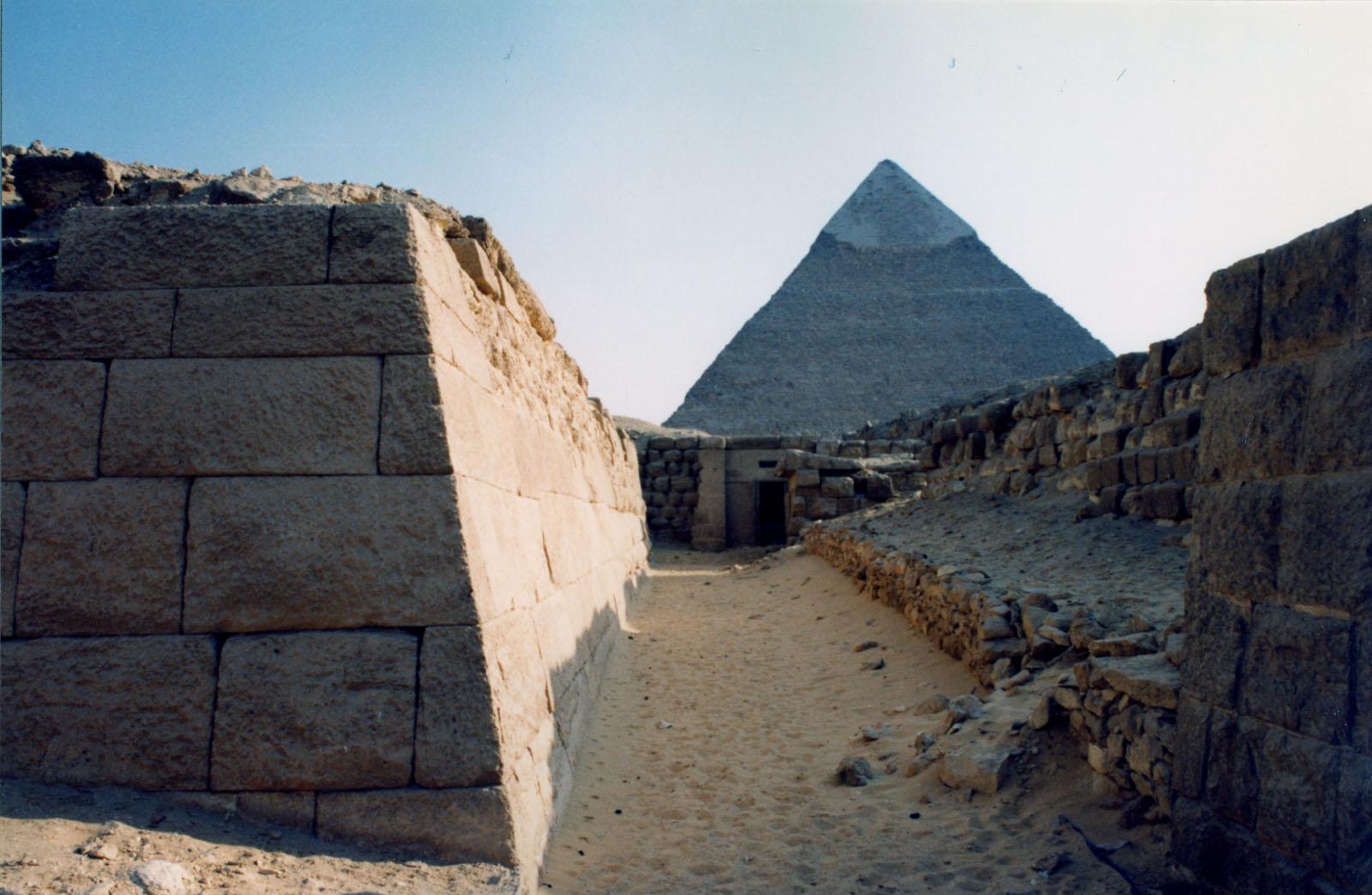 Western Cemetery: Site: Giza; View: G 2155, Qedfy (G 2135a), G 4761, Nefer III