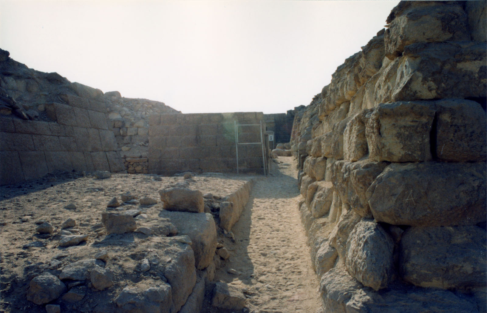 Western Cemetery: Site: Giza; View: Kaninisut III (G 2156a), G 2155, G 2160
