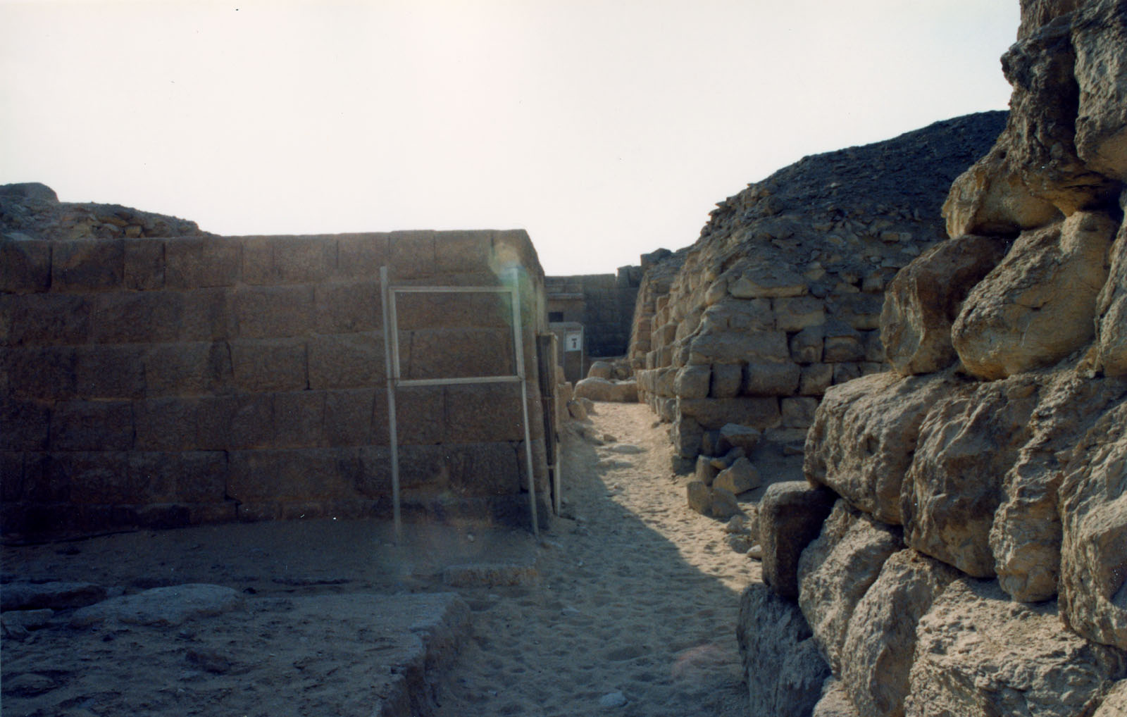 Western Cemetery: Site: Giza; View: Kaninisut III (G 2156a), G 2160, G 2136
