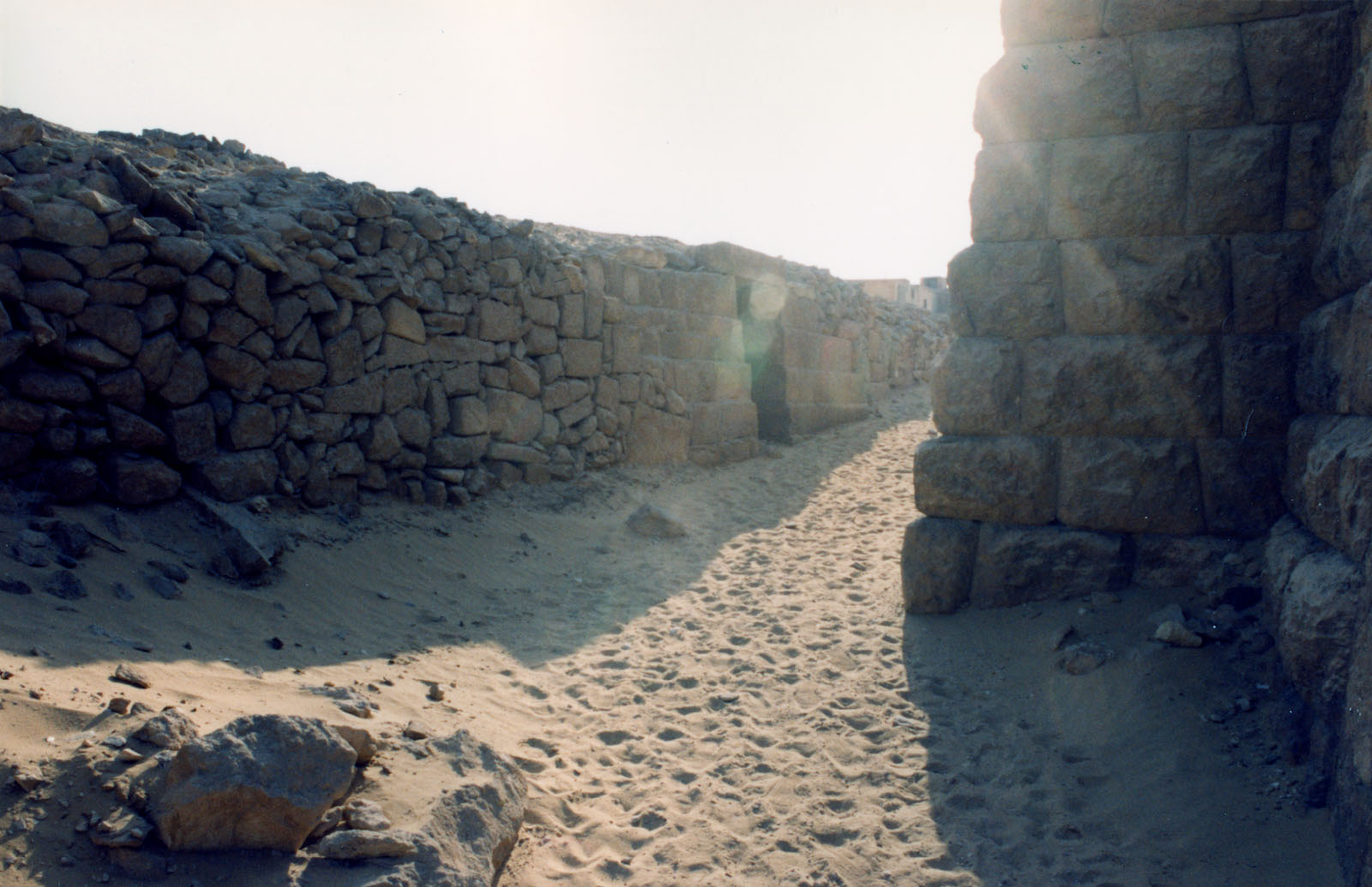 Western Cemetery: Site: Giza; View: G 2100-II, User