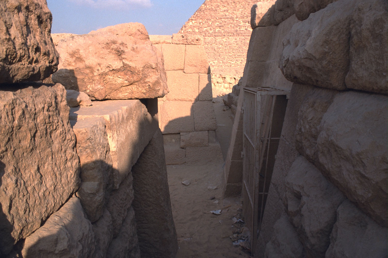 Western Cemetery: Site: Giza; View: Qedfy (G 2135a), G 4761, G 2155