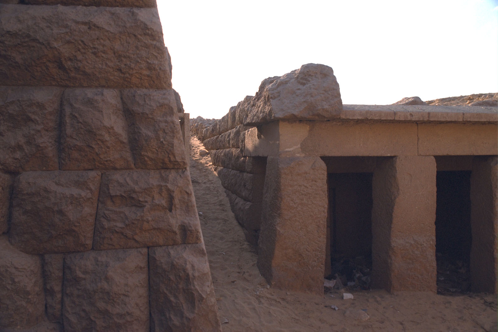 Western Cemetery: Site: Giza; View: G 4761, Qedfy (G 2135a)