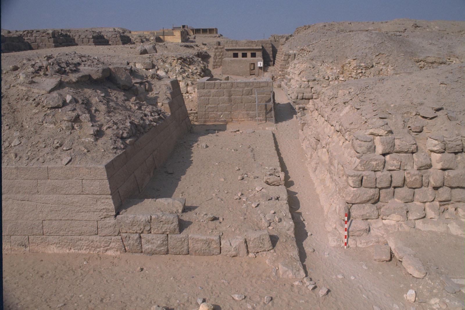 Western Cemetery: Site: Giza; View: G 2155, Kaninisut III (G 2156a), G 2160, G 2136, G 2100-II