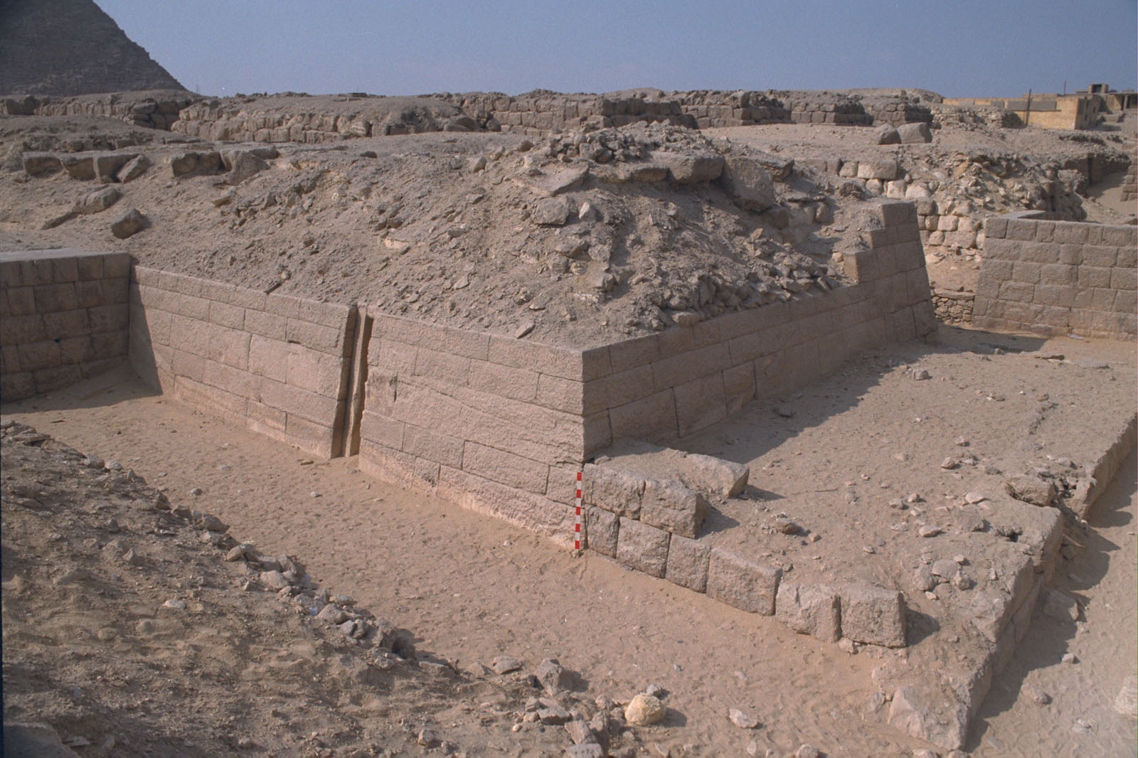Western Cemetery: Site: Giza; View: G 2155, Kaninisut III (G 2156a)
