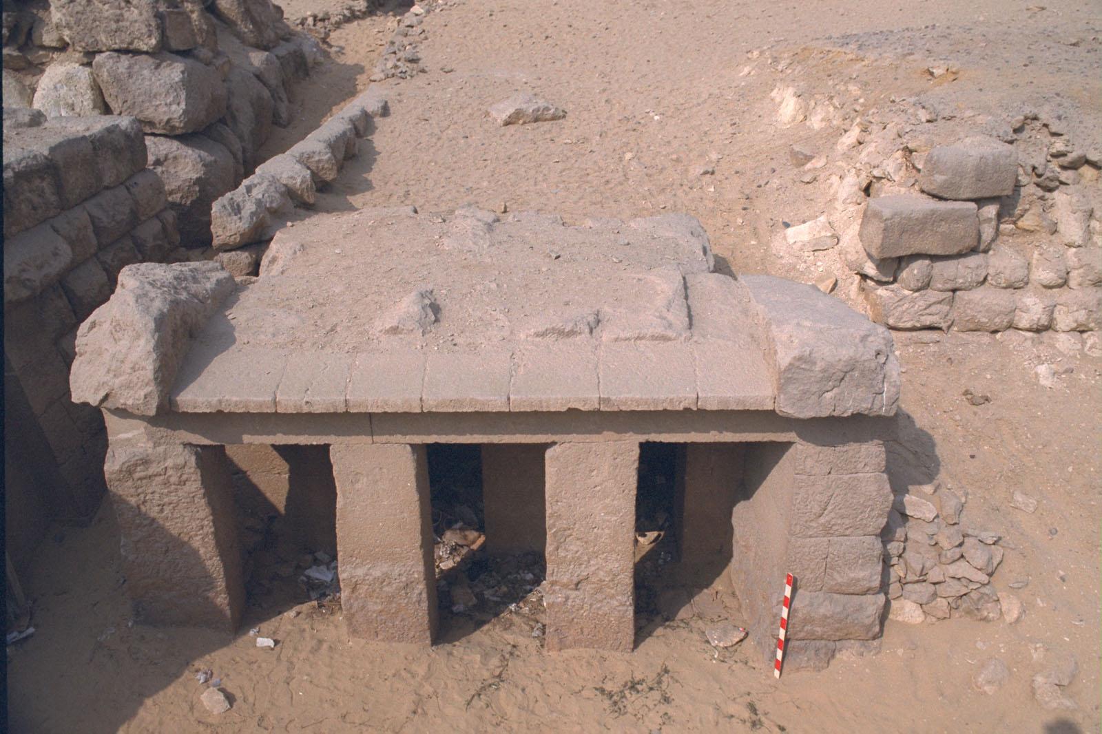 Western Cemetery: Site: Giza; View: Qedfy (G 2135a)
