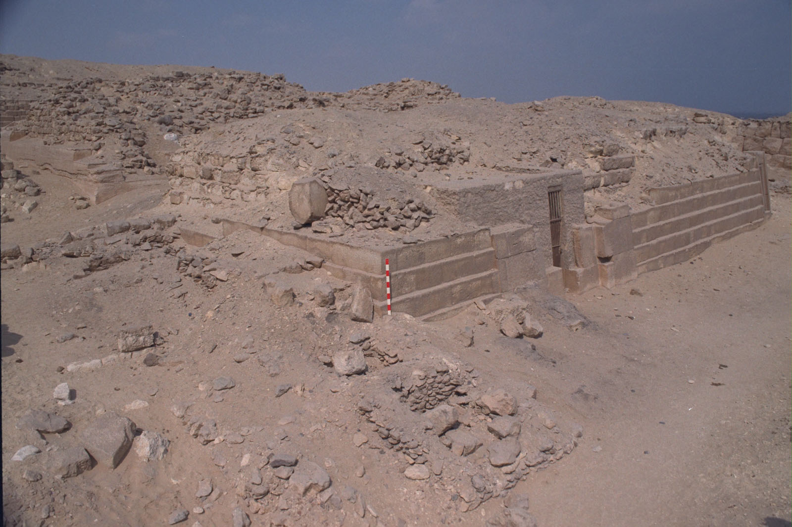 Western Cemetery: Site: Giza; View: G 2150, G 2144, G 2143, G 2142