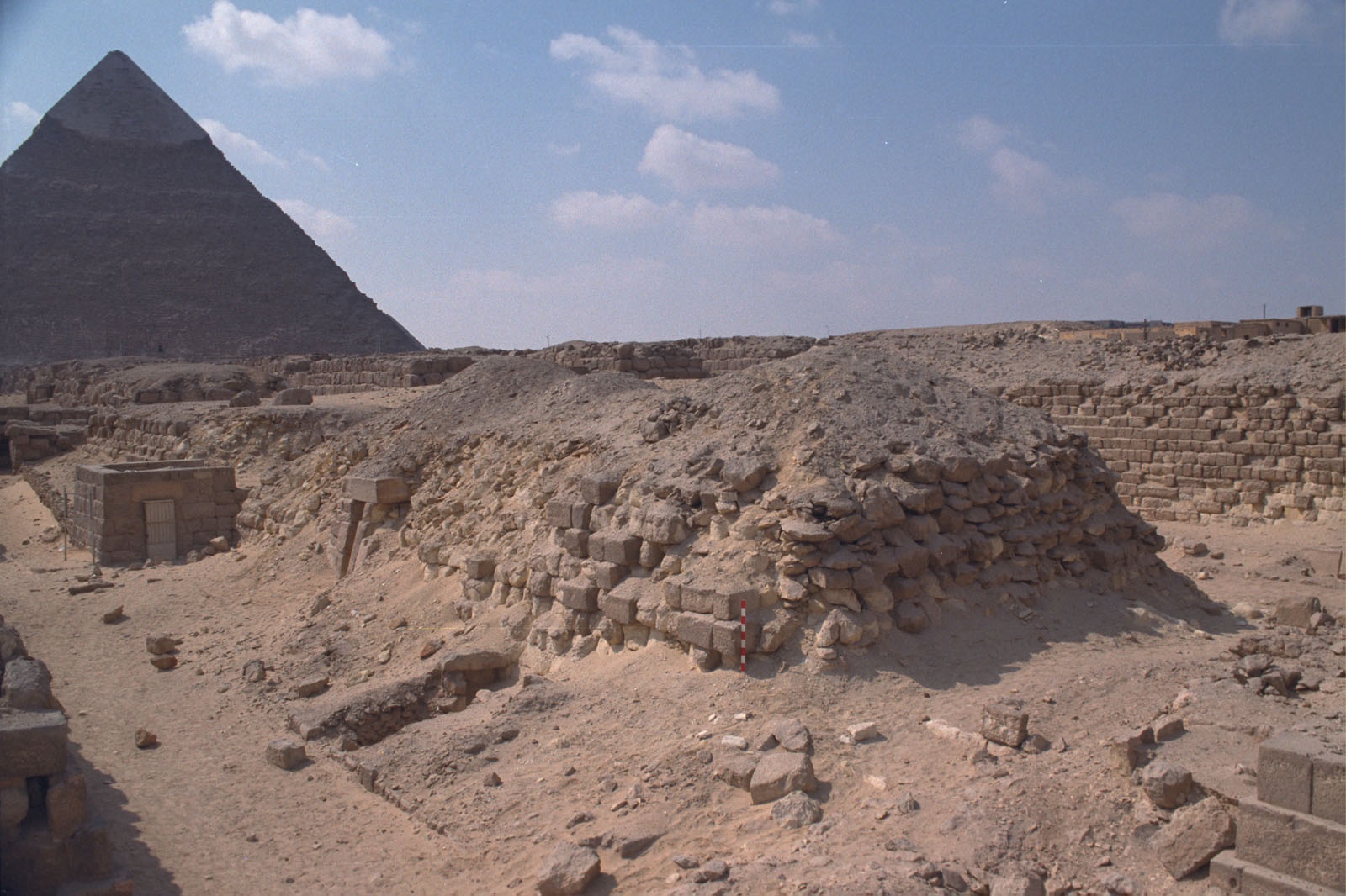 Western Cemetery: Site: Giza; View: G 2140, G 2136, G 2145, G 2146, G 2147, G 2148