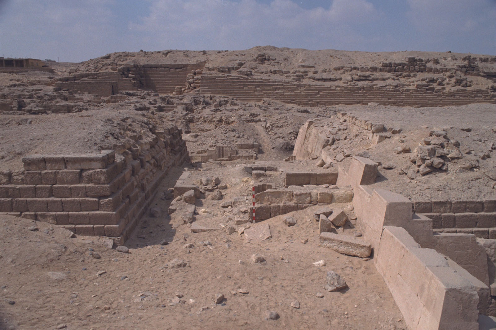 Western Cemetery: Site: Giza; View: G 2100, G 2110, G 2112, G 2111, G 2113