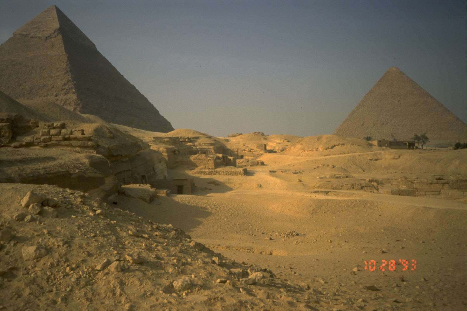 Central Field (Hassan): Site: Giza