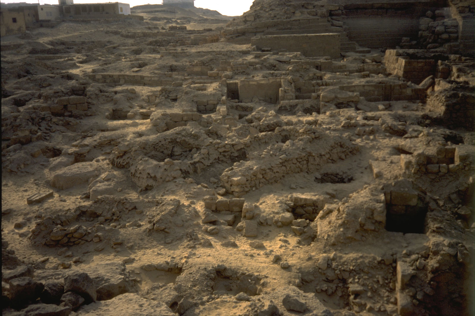 Western Cemetery: Site: Giza; View: G 2016