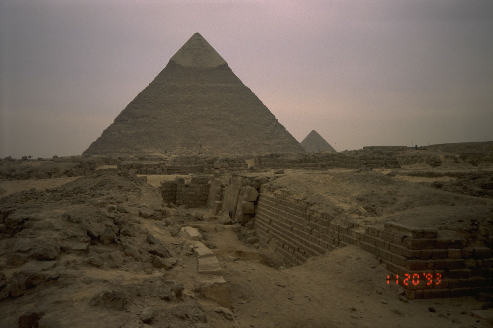 Western Cemetery: Site: Giza; View: G 2100, G 2100-I, G 2114, G 2105, G 2104, G 2103