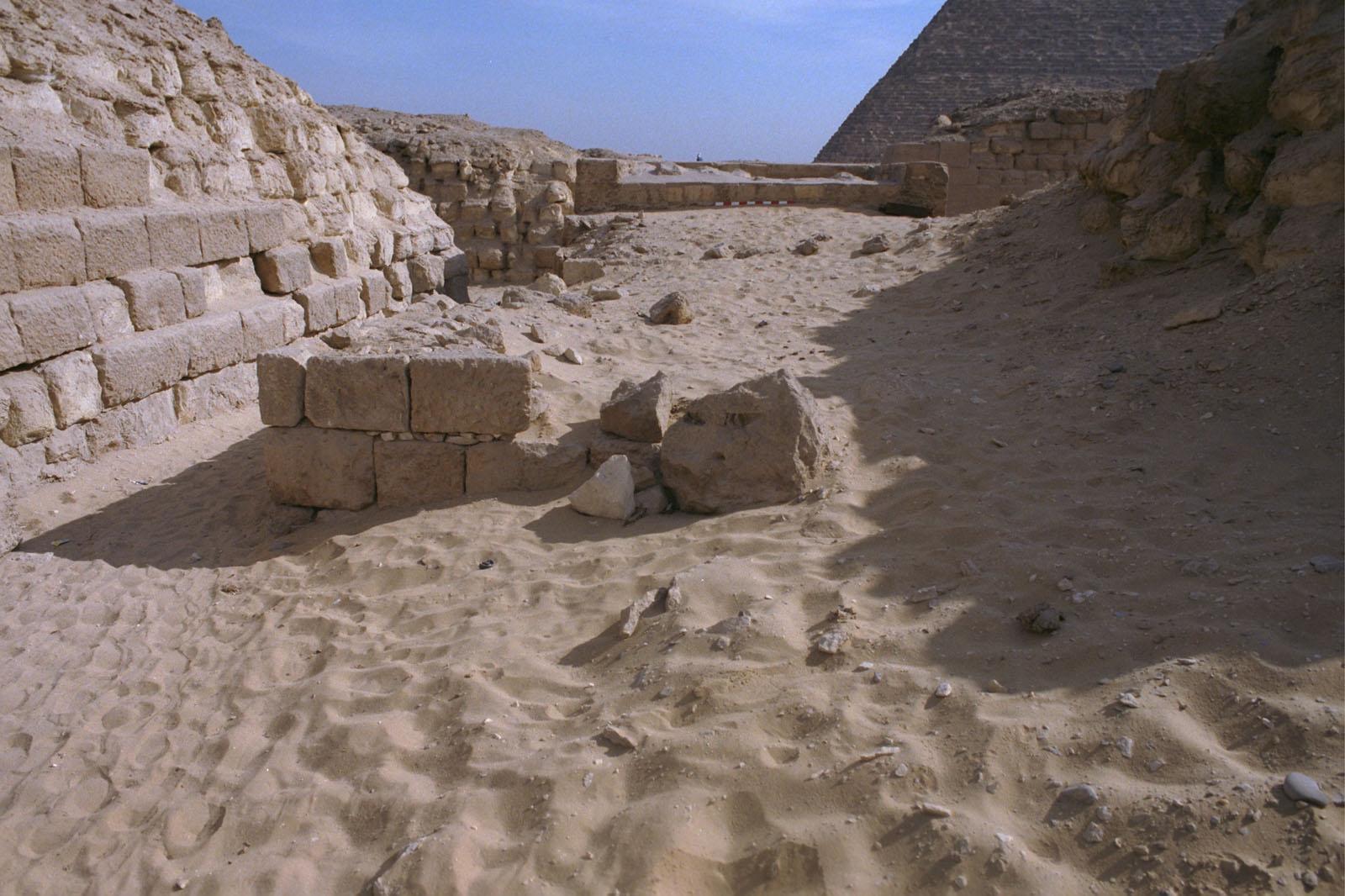 Western Cemetery: Site: Giza; View: G 2136, Nimaatre (G 2163b)