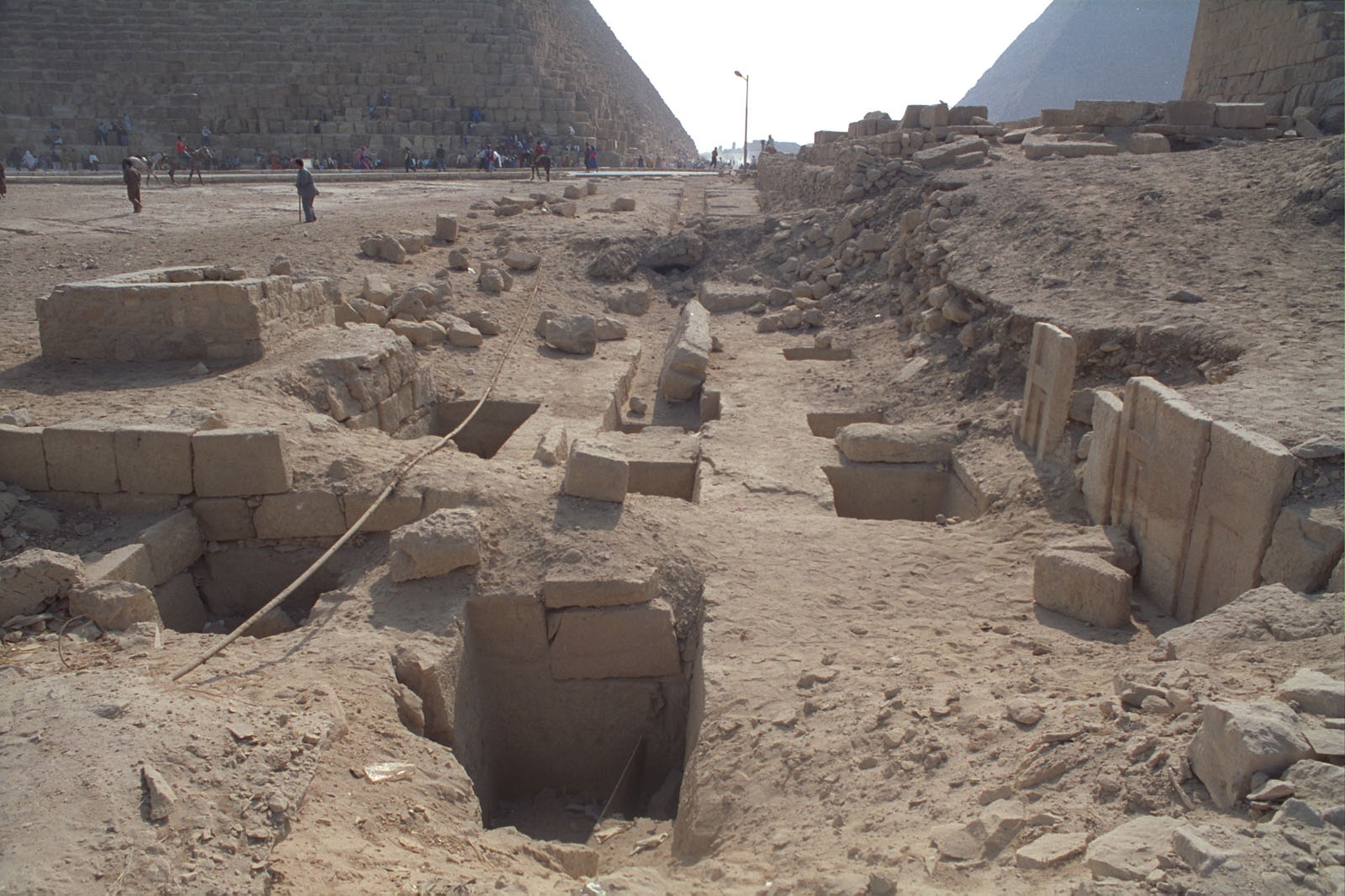 Western Cemetery: Site: Giza; View: G 2389, G 2391, G 2450, G 2451, G 2452