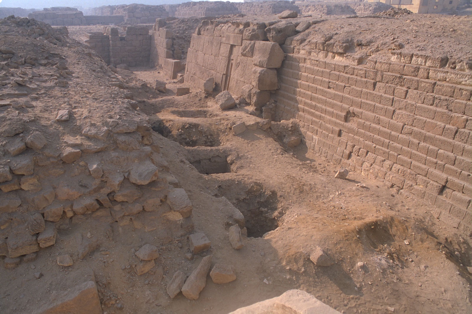 Western Cemetery: Site: Giza; View: G 2100, G 2100-I, G 2103, G 2103, G 2104, G 2105