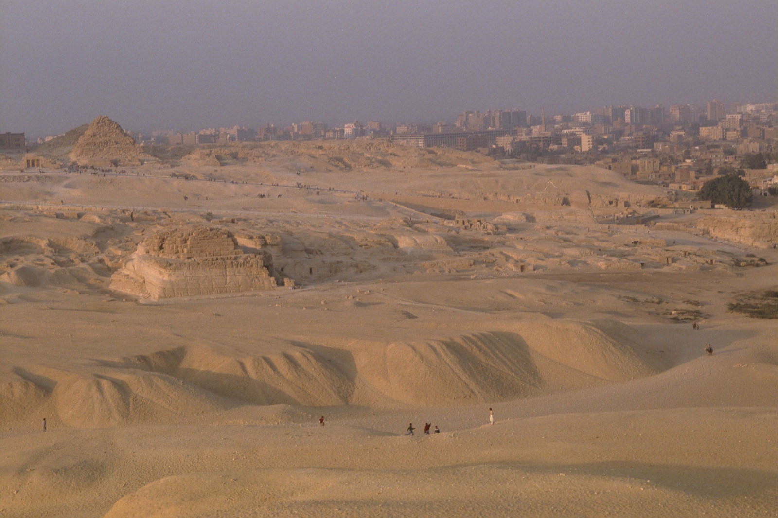 General view: Site: Giza; View: G 8400