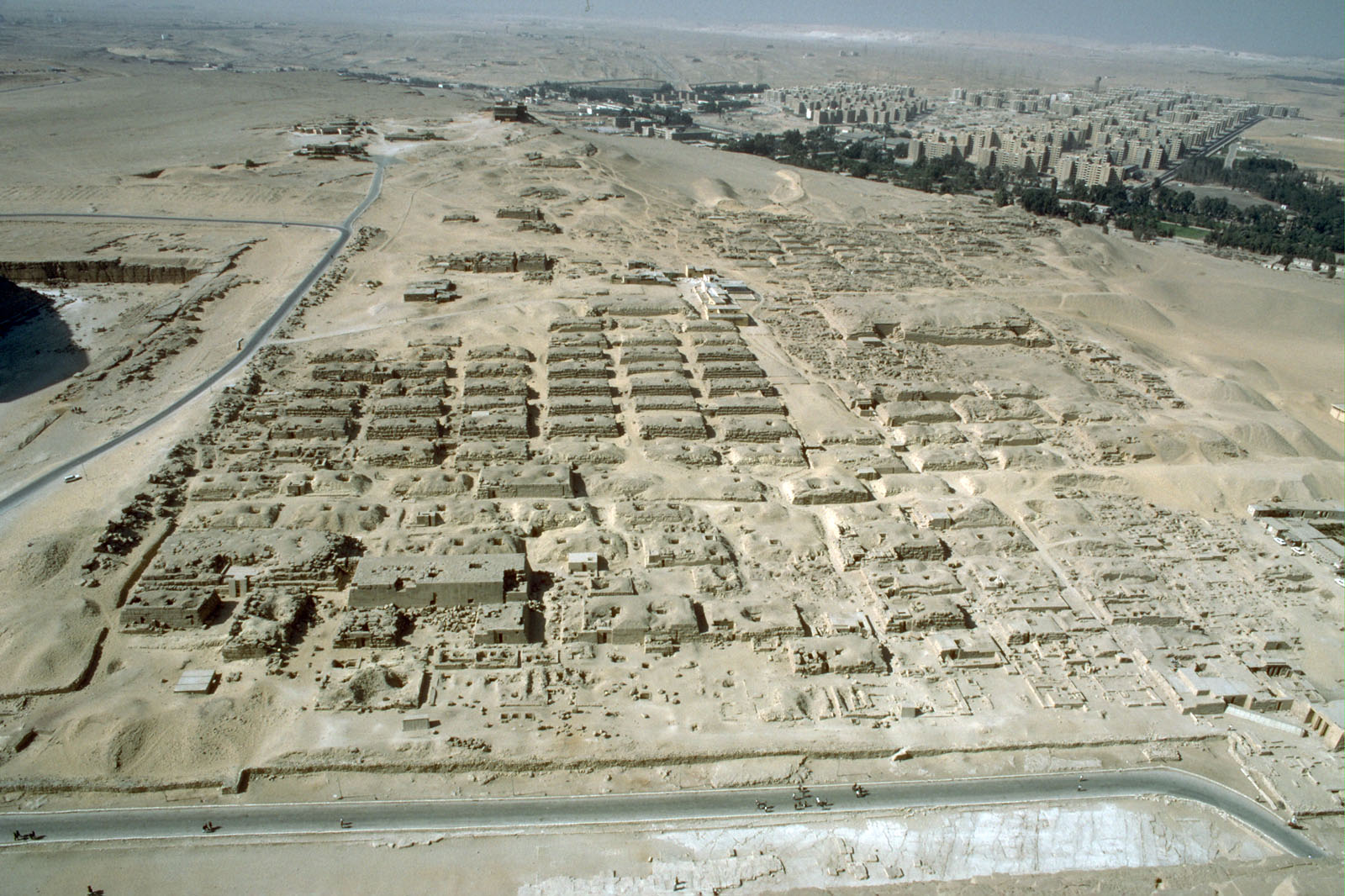 Western Cemetery: Site: Giza; View:
