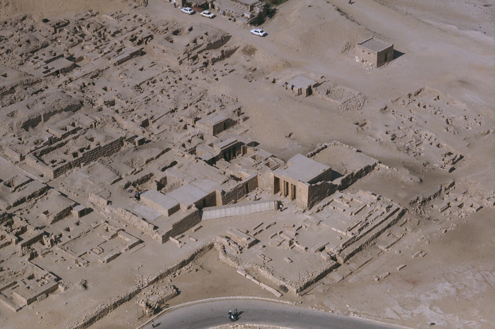 Western Cemetery: Site: Giza; View: G 2370, G 2378, G 2374, G 2381