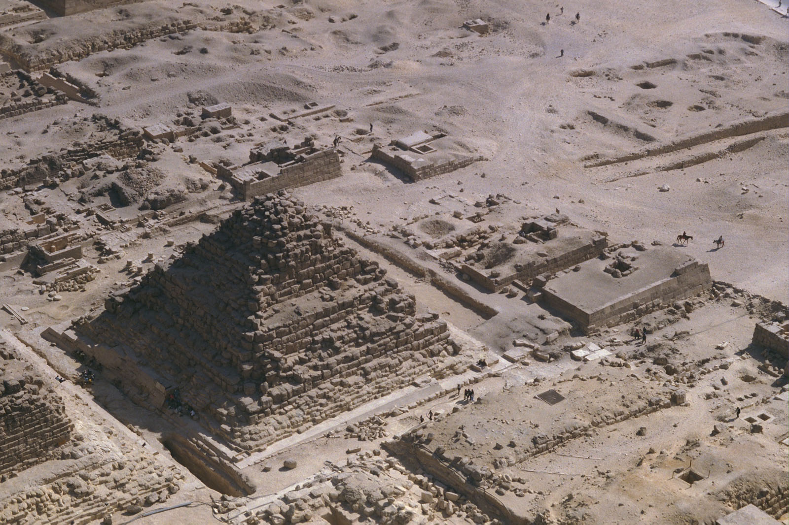 Eastern Cemetery: Site: Giza; View: G I-c, G 7070, G 7060, G 7050