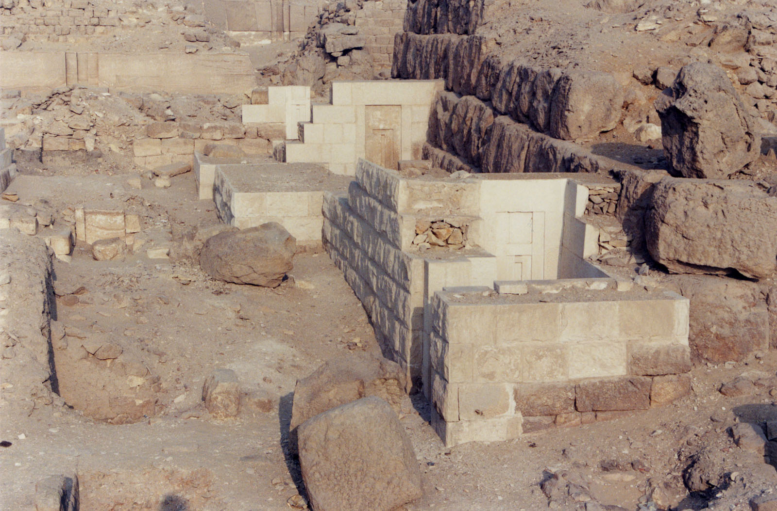 Western Cemetery: Site: Giza; View:  G 2156', G 2138, G 2134