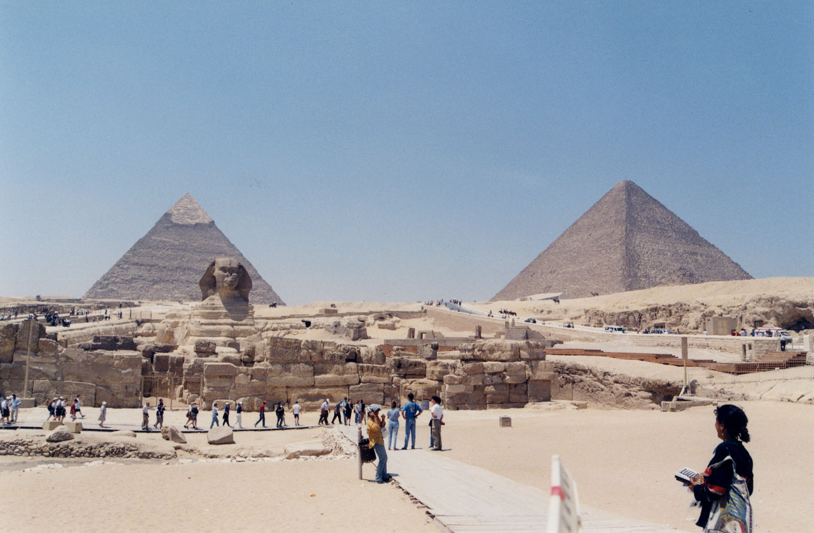 General view/misc.: Site: Giza; View: Sphinx