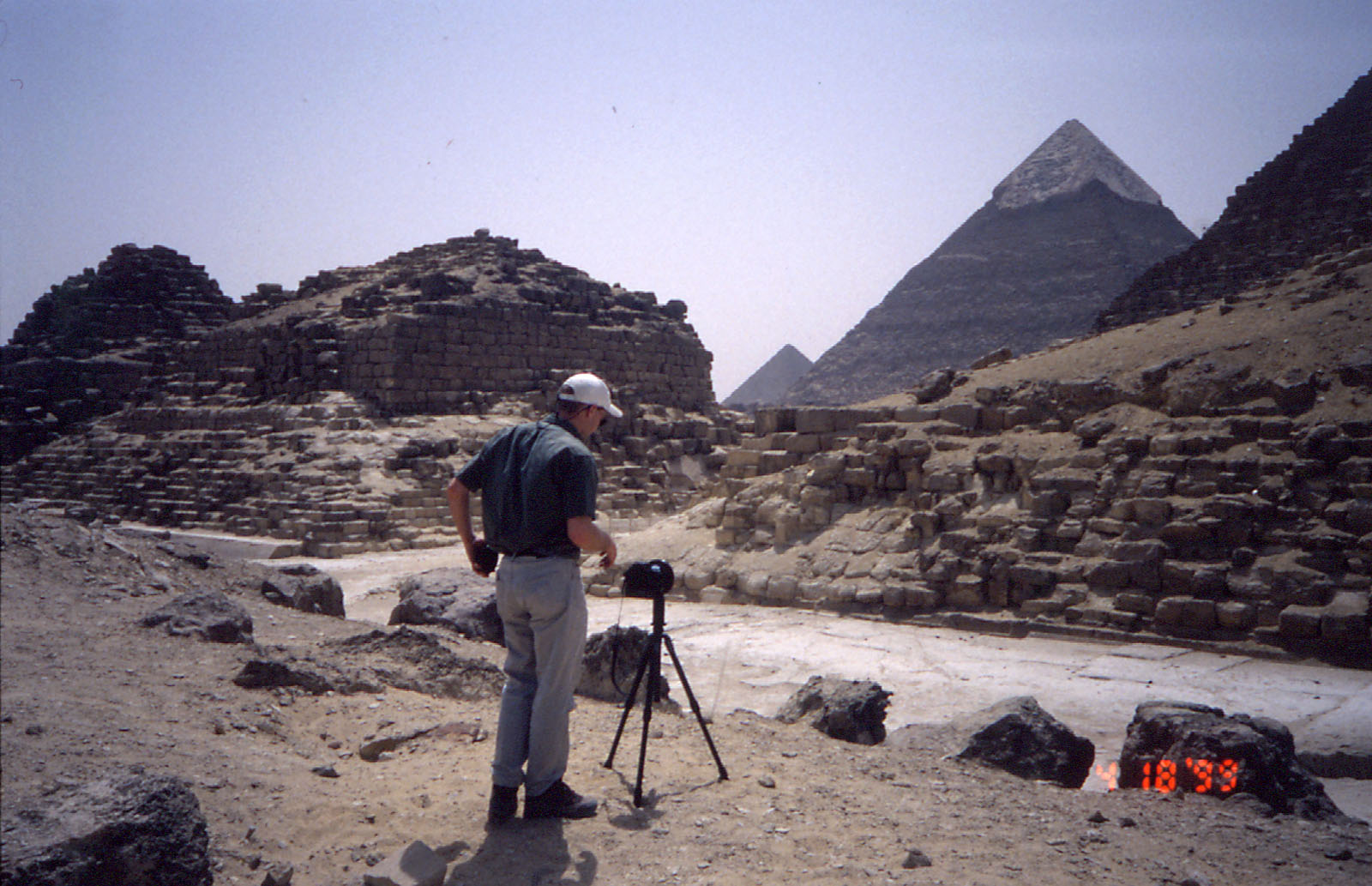 Eastern Cemetery: Site: Giza; View: G I-a, G I-b, G I-c, G 7110-7120