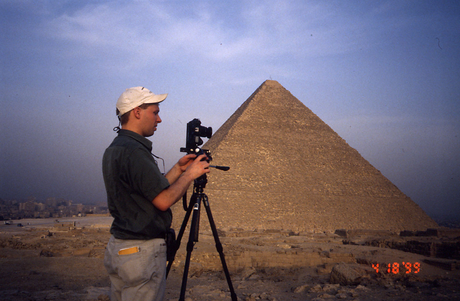 People & places: Site: Giza; View: G 2000, Khufu pyramid