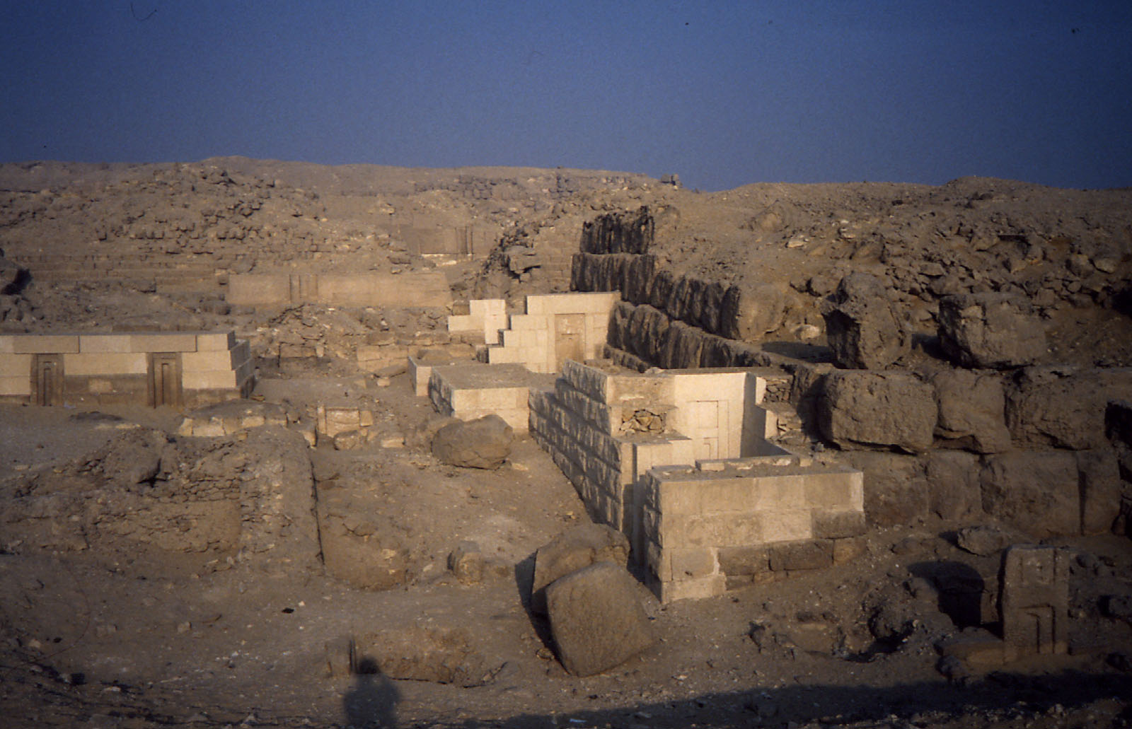 Western Cemetery: Site: Giza; View: G 2151, G 2156', G 2222, G 2138, G 2134, G 2220