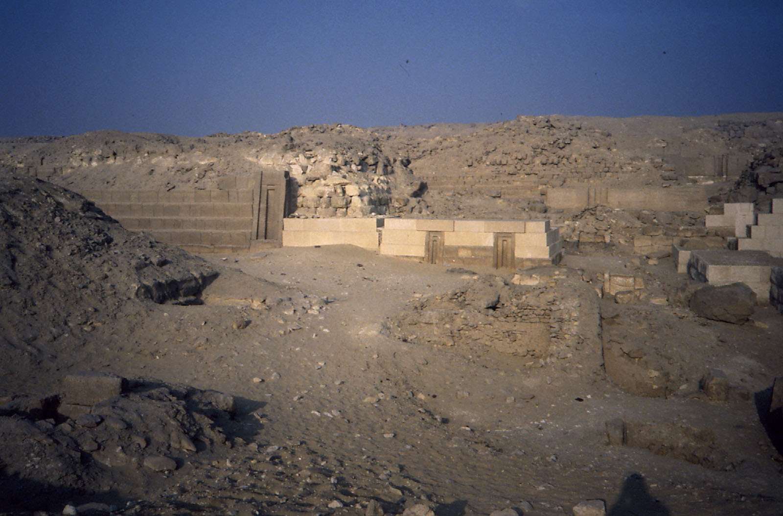 Western Cemetery: Site: Giza; View: G 2150, G 2151, G 2225, G 2157, G 2170, G 2154, G 2154a