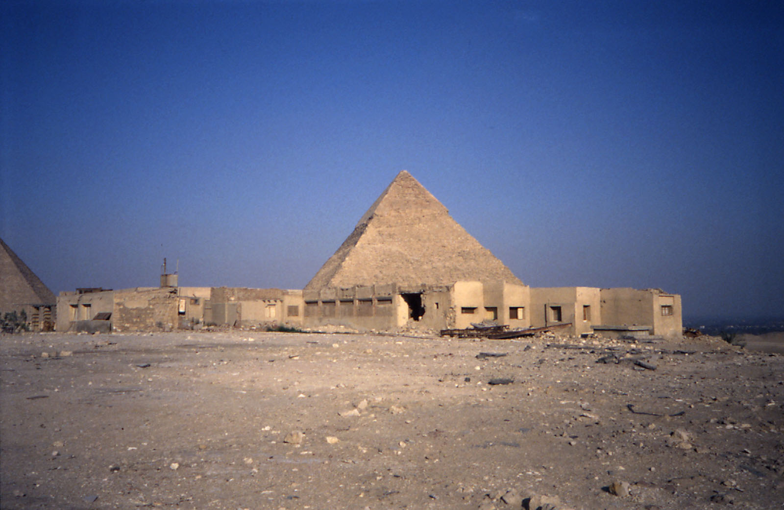 Western Cemetery: Site: Giza; View: Harvard Camp