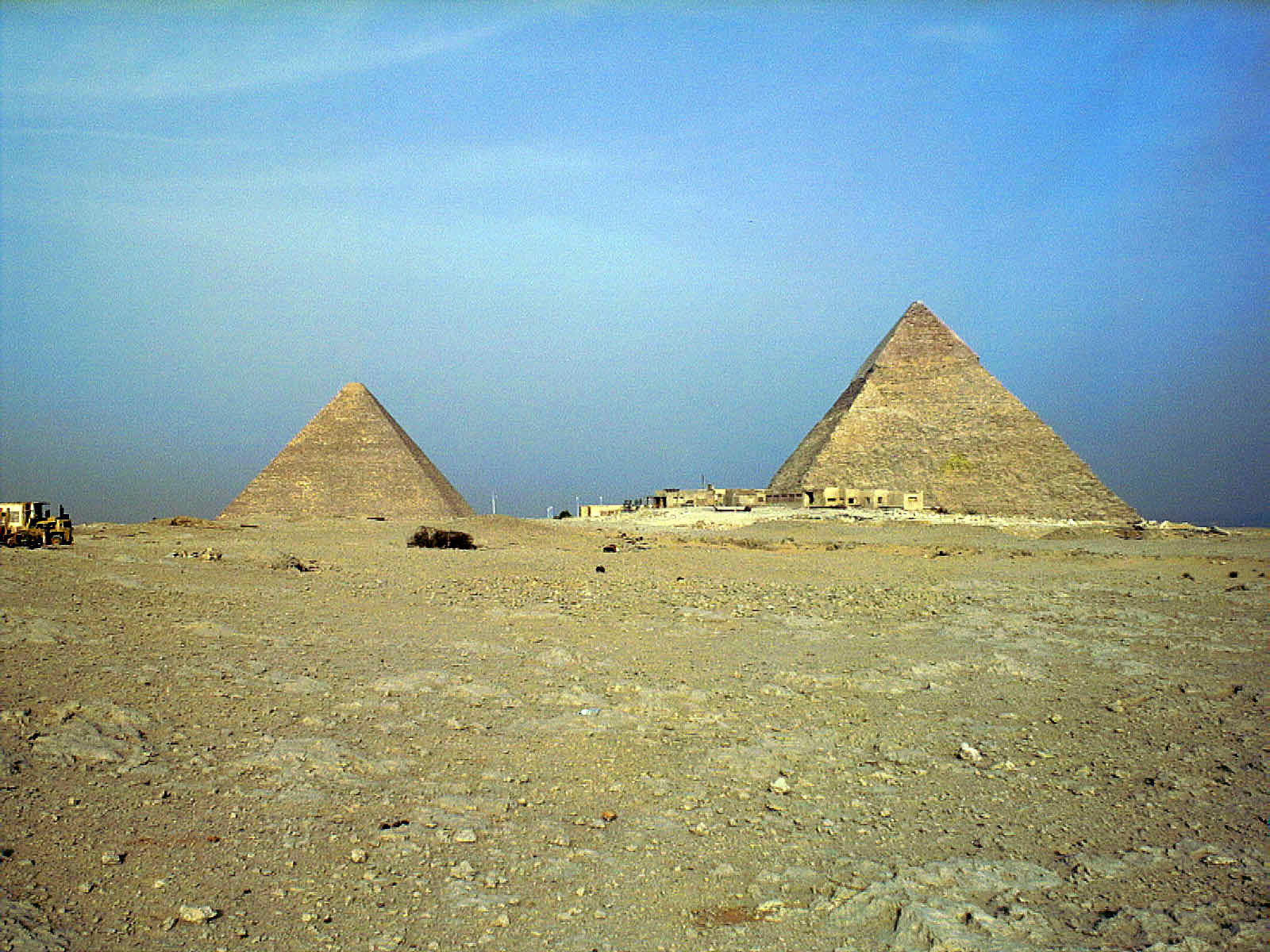General view/misc.: Site: Giza; View: Harvard camp
