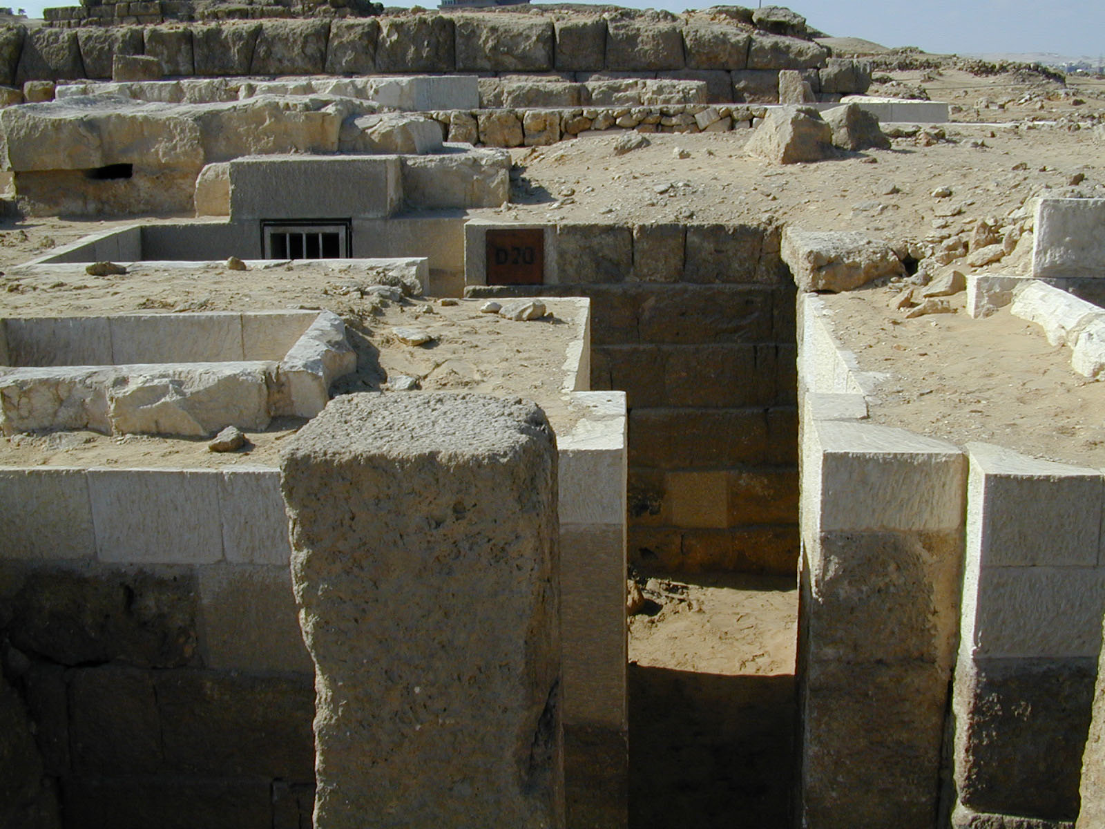 Western Cemetery: Site: Giza; View: D 20