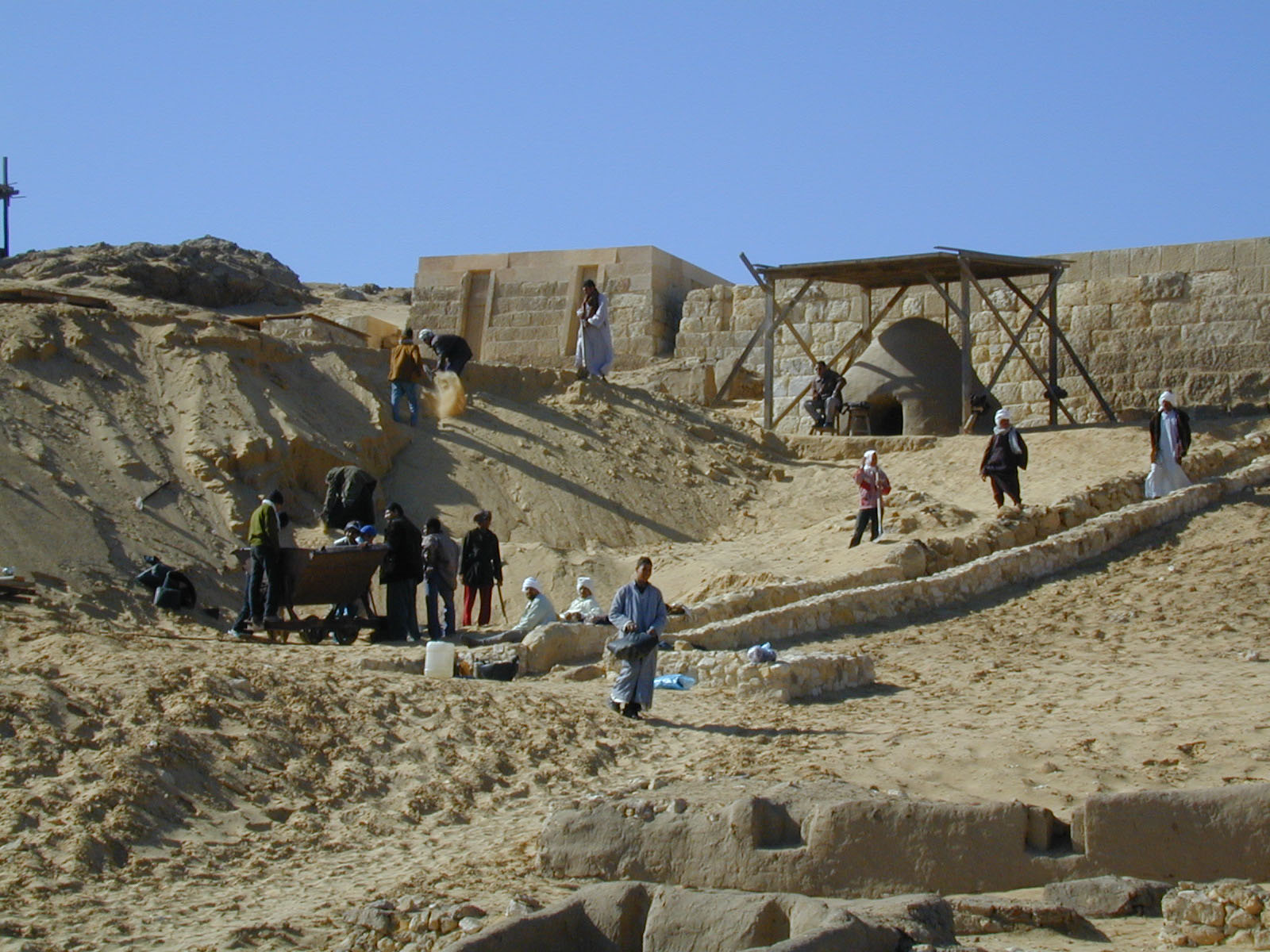 South Giza Cemetery (Z. Hawass): Site: Giza; View: South Giza