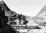 G I-South Cemetery: Site: Giza; View: Mastaba X, Mastaba IX