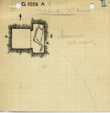 Maps and plans: G 1026, Shaft A (II)