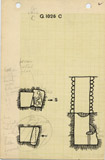Maps and plans: G 1026, Shaft C