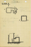 Maps and plans: G 1026, Shaft E