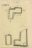 Maps and plans: G 1029, Shaft D