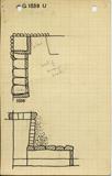 Maps and plans: G 1039, Shaft U