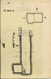 Maps and plans: G 1043, Shaft C